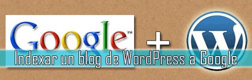 indexar blog a google