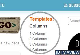 columnas del web