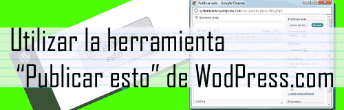 Publicar esto - WordPress.com