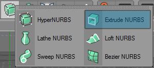 extrude nurbs