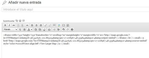 codigos-pegados-en-WordPress-de-Google-Maps