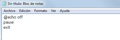 comando pause tutorial