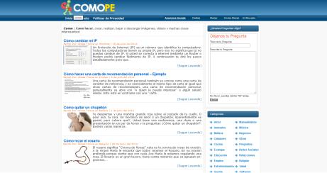blog comope todas tus respuestas en un solo sitio