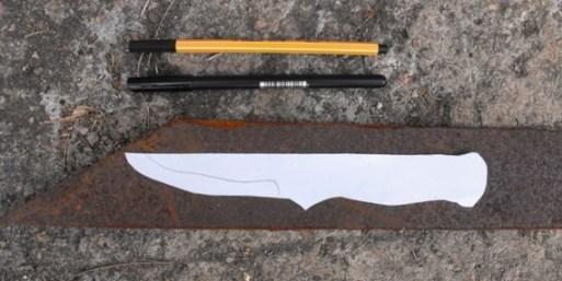 como hacer un cuchillo artesanal