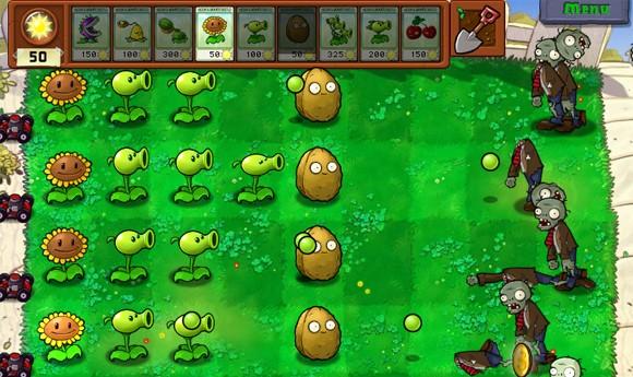 Jugar Plants vs Zombies