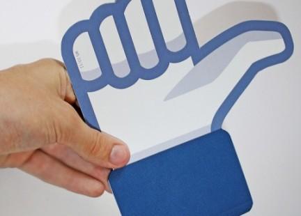 me gusta de facebook en la vida real