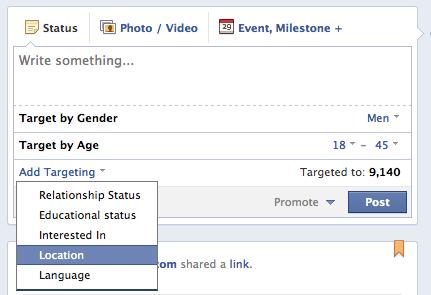 segmentar contenido para fans en facebook