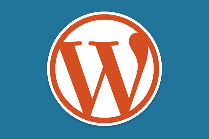 wordpress orange logo