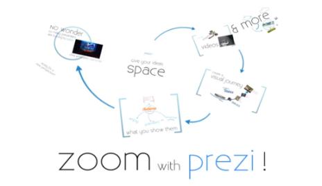 zoom with prezi