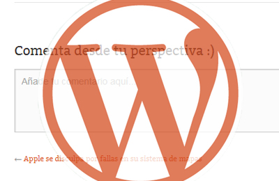 modificar comentarios wordpress